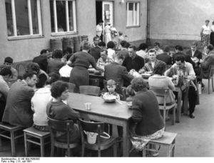 13.7.1961 West-Berlin, Marienfelde