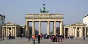 Brandenburger Tor nach Mauerfall