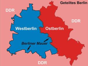 Berliner Mauer 1961 - 1989 (c) Franz Stuermer