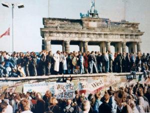 Fall der Mauer 9.1..1989